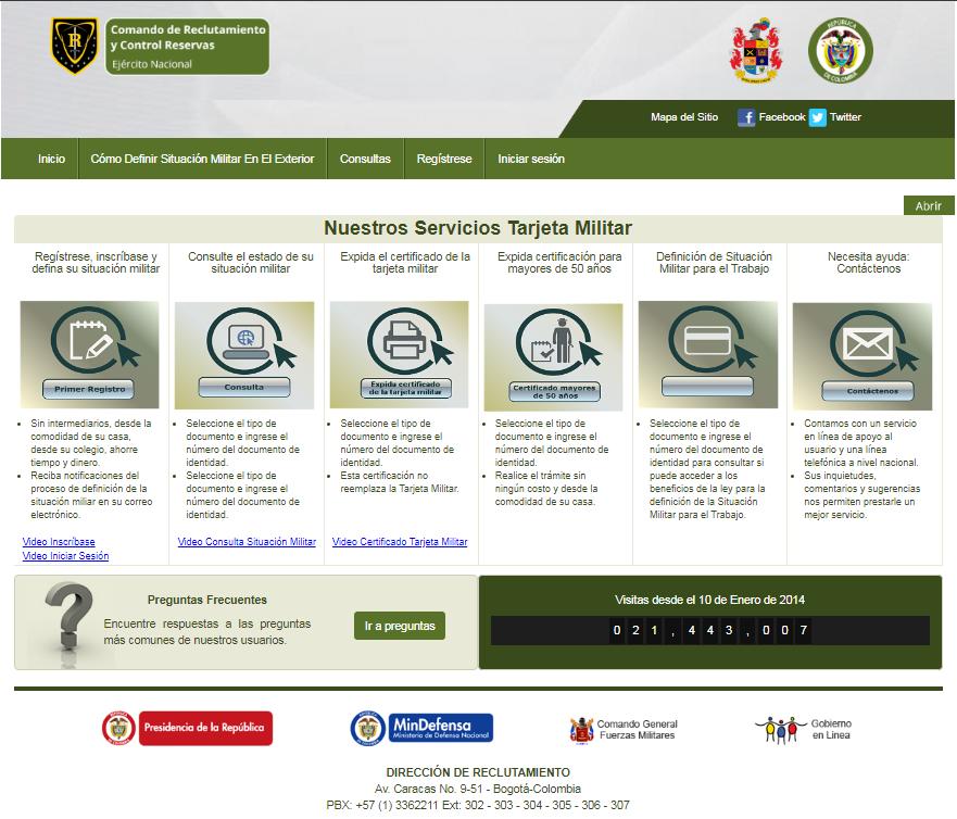Certificado libreta militar Colombia 1