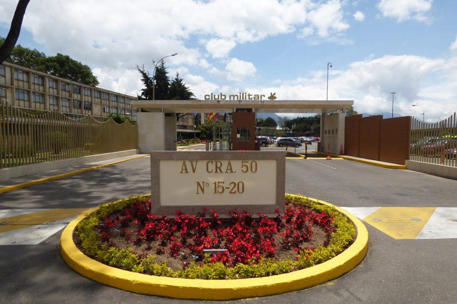 Unirse al club militar de Bogotá 1
