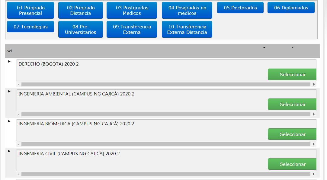 Universidad militar Nueva Granada - inscripci贸n y matriculas 4
